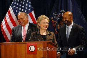 Ed Rendell and Hillary Clinton