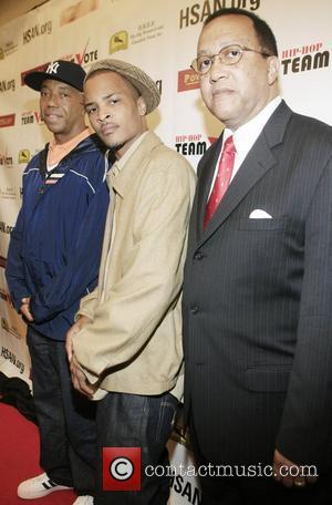Russell Simmons, T.i. and Dr. Ben Chavis