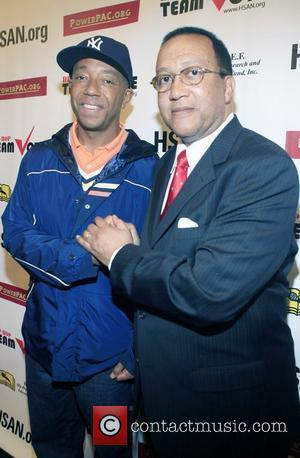 Russell Simmons and Dr. Ben Chavis