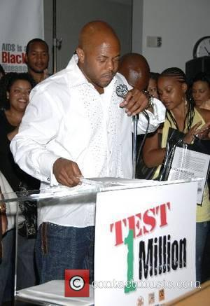Rockmond Dunbar Celebrities promoting HIV testing in the black community press conference  at the Screen Actors Guild Hollywood, California,...