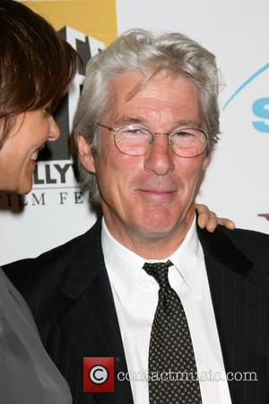 Richard Gere, Carey Lowell, Beverly Hilton Hotel