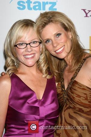 Rachael Harris and Cheryl Hines