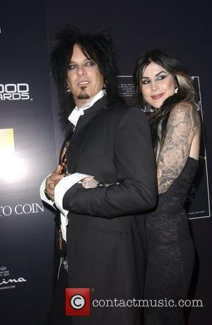 Nikki Sixx and tattoo artist Kat Von D Hollywood Life Magazine's 10th Annual