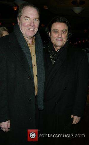 Michael McKean & Ian McShane  Opening night of Harold Pinter's 'The Homecoming' at the Cort Theatre on Broadway -...