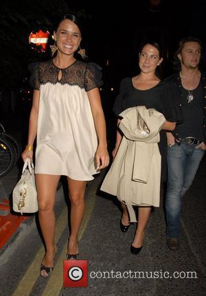 Kate Ritchie, Jodi Gordon and Mark Furze of Home and Away at the Ivy London, England - 18.07.07