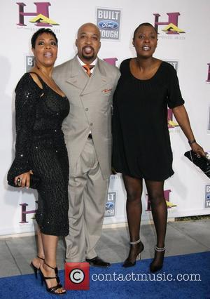 Shirley Strawberry, Nephew Tommy and Carla Ferrell The 5th Annual Hoodie Awards Hosted By Steve Harvey at Orleans Arena Las...