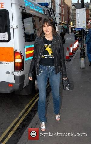 Chrissie Hynde The Hoping Foundation Benefit Evening held at Ronnie Scott's London, England - 21.06.07