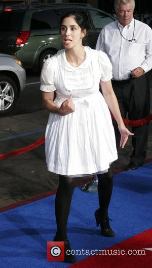 Sarah Silverman The Los Angelse premiere of 'Hot Rod' held at Mann's Chinese Theatre - Arrivals California, USA - 27.07.07