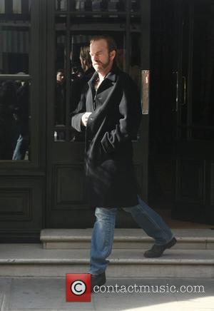 Hugo Weaving leaving his hotel today London, England - 07.03.08