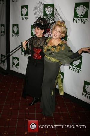 Susie Essman and Bette Midler 12th Annual Bette Midler's New York Restoration Project's Hulaween at the Waldorf Astoria - Arrivals...