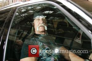 Hulk Hogan leaving ABC studios after appearing on 'Live with Regis and Kelly' New York City, USA - 07.01.08