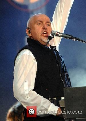 Peter Gabriel performing at the festival 'Hyde Park Calling' - day 1 London, England - 23.06.07