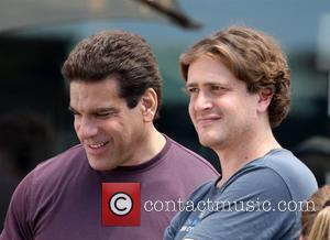 Lou Ferrigno and Jason Segel