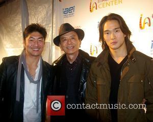 Rick Yune, James Hong and Karl Yune The Imaginasian Center Ribbon-Cutting Ceremony and Red Carpet Gala  Los Angeles, California...
