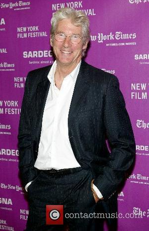 Richard Gere New York Film Festival 2007 - Screening of 'I'm Not There' at the Frederick P. Rose Hall in...