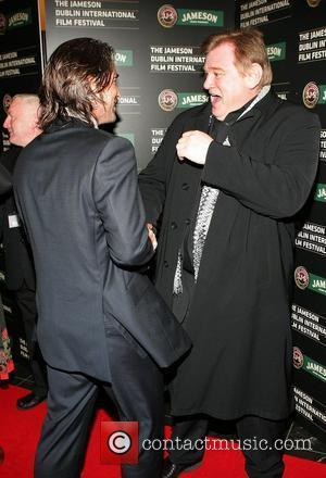 Colin Farrell and Brendan Gleeson Irish Premiere of 'In Bruges' at the Savoy Cinema as part of the Jameson Dublin...