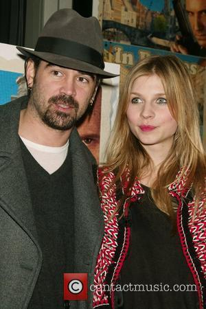 Colin Farrell and Clemence Poesy