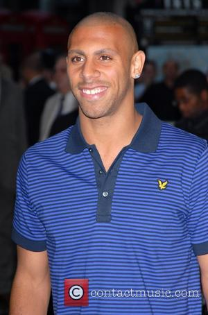 Anton Ferdinand UK film premiere of 'In The Hands Of Gods' held at the Odeon West End - Arrivals London,...