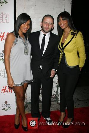 Vanessa Simmons, Euegene Remm, Angela Simmons In Touch Weekly 5th anniversary party at Tenjune New York City, USA - 10.10.07