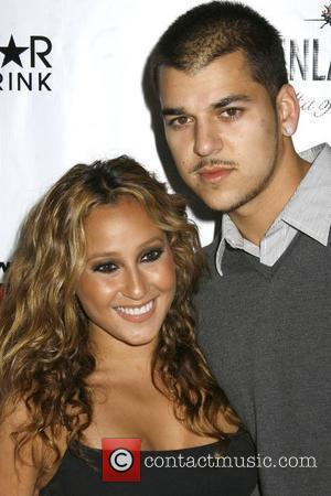 Adrienne Bailon and Robert Kardashian Jr.