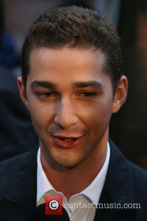 Labeouf Trying To Get Dad Out Of His Garage