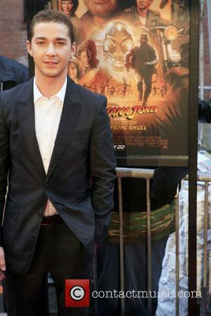 Shia LaBeouf New York premiere of 'Indiana Jones and the Kingdom of the Crystal Skull' at AMC Magic Johnson Harlem...