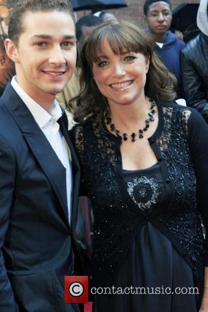 Shia Labeouf and Karen Allen