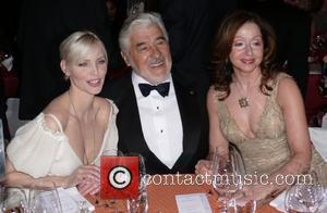 Nadja Auermann, Mario Adorf, Vicky Leandros 5th charity gala Innocence in Danger at the Grand Hyatt Hotel Berlin, Germany -...