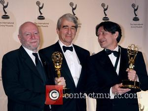 Jim Broadbent, Sam Waterston and Pierre Bokma 35th International Emmy Awards Gala at the New York Hilton - Arrivals New...