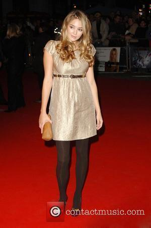 Keeley Hazell  The Times BFI 51st London Film Festival screening of 'Interview' at Odeon West End - Arrivals London,...
