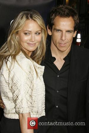 Christine Taylor and Ben Stiller Los Angeles Premiere of 'Iron Man' held at  Grauman's Chinese Theatre Hollywood, California -...
