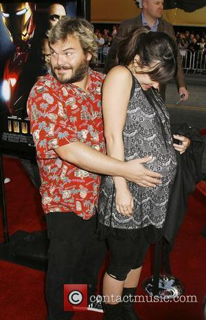 Jack Black and Tanya Haden Los Angeles Premiere of 'Iron Man' held at  Grauman's Chinese Theatre Hollywood, California -...