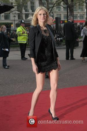 Gwyneth Paltrow at the UK film premiere of 'Iron Man' - arrivals held at Odeon Leicester Square London, England -...