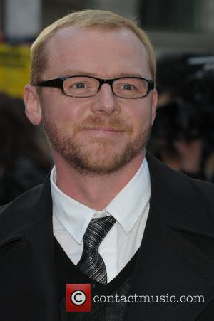Simon Pegg, Odeon Leicester Square