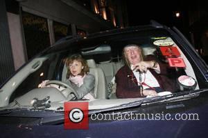 John McCririck and wife Jenny aka Booby leaving the Ivy Restaurant London, England - 19.05.07