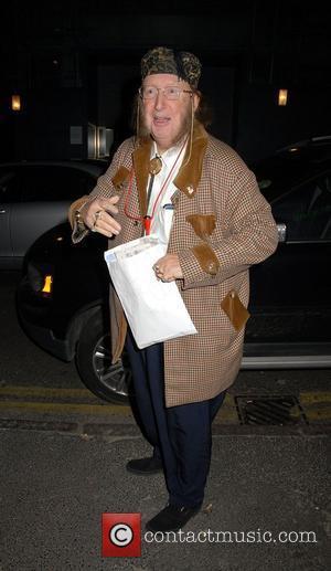 John McCririck leaving the Ivy Restaurant London, England - 02.02.08
