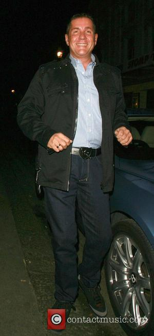 Dale Winton arrives at the Ivy London, England - 16.01.07