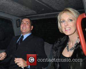 Dale Winton and Guest leaving the Ivy Restaurant London, England - 16.02.2008