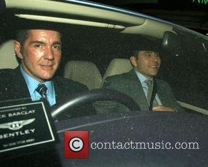 Dale Winton and David Walliams leaving the Ivy London, England - 13.09.07
