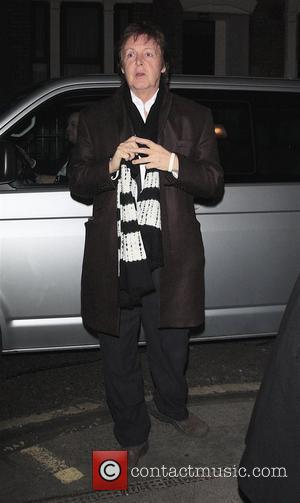 Sir Paul McCartney outside the Ivy restaurant London, England - 24.01.08