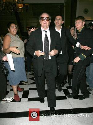 Pandemonium ensues as Jack Nicholson arrives back at Claridge's at 1am. Around 20 autograph hunters burst into the hotel, and...