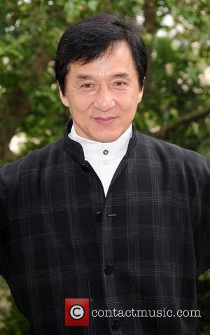 Jackie Chan at a press conference to discuss his new film 'The Forbidden Kingdom' London, England - 23.05.08