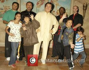 Jackie Chan wax figure is unveiled at Madame Tussauds amidst Kung Fu fever as martial artists recreate a fight scene...