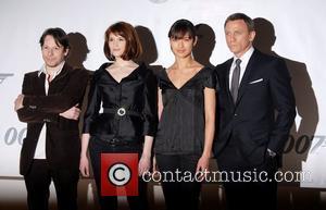 Daniel Craig, Gemma Arterton, Olga Kurylenko and Mathieu Amalric