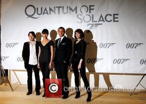 Gemma Arterton, Olga Kurylenko, Daniel Craig and Mathieu Amalric