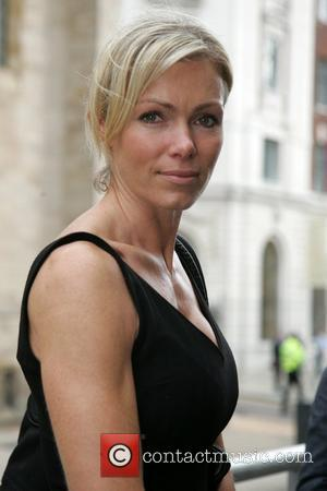 Nell McAndrew Family and friends leaving the funeral of Jane Tomlinson at St Annes Church Leeds, England - 14.09.07