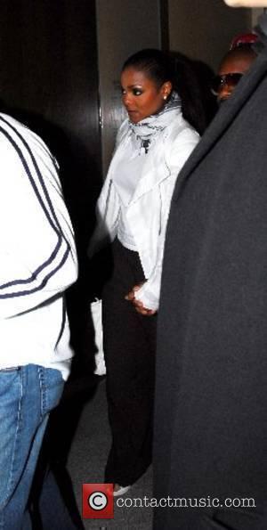 Janet Jackson leaving Nobu Berkeley Restaurant London, England - 22.05.2007