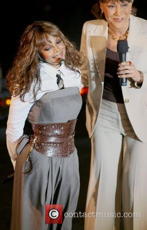 Janet Jackson and Robin Roberts