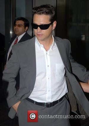 Jason Priestley outside Fox Studios for 'The Morning Show with Mike and Juliet' New York City, USA - 30.07.07