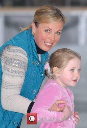 Jayne Torvill at Somerset House ice rink, where she is the honorary patron of the skate school. London, England -...